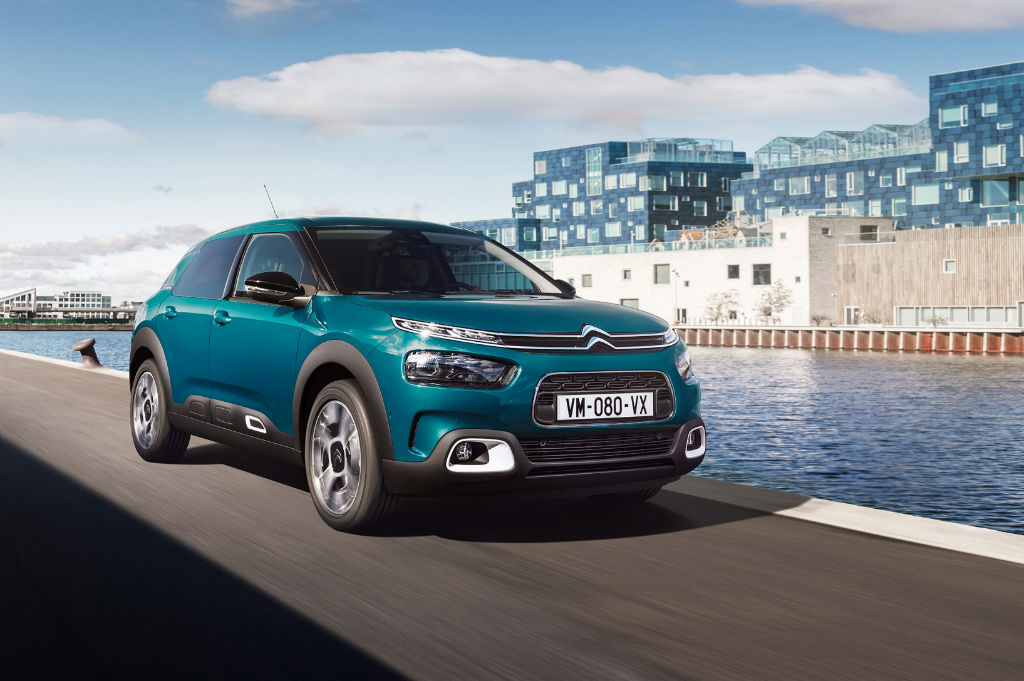 Citroen C4 Cactus 2018 Front Main - Citroen C4 Cactus gets a facelift - Citroen C4 Cactus gets a facelift