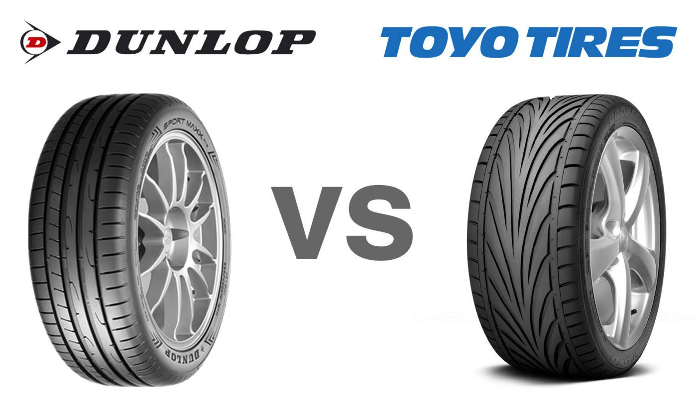 Dunlop Vs Toyo Tyres carwitter 1400x840 - Toyo T1R Proxies Vs Dunlop Sport Maxx RT2 - Toyo T1R Proxies Vs Dunlop Sport Maxx RT2