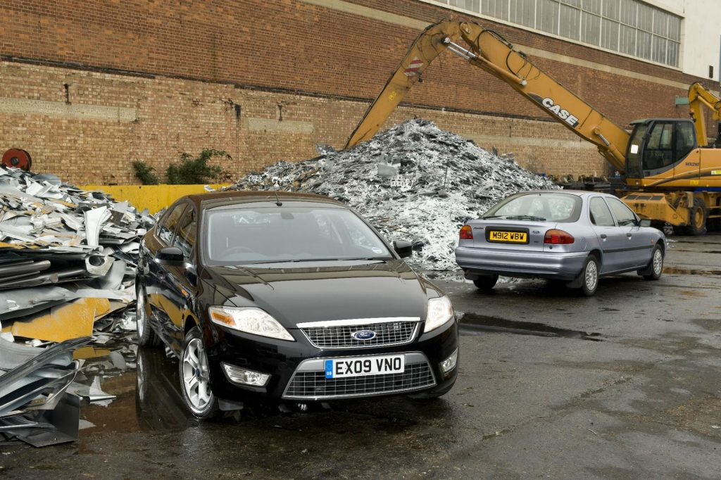 Ford Scrappage Carwitter 1024x682 - Should I Scrap Or Sell My Old Car? - Should I Scrap Or Sell My Old Car?