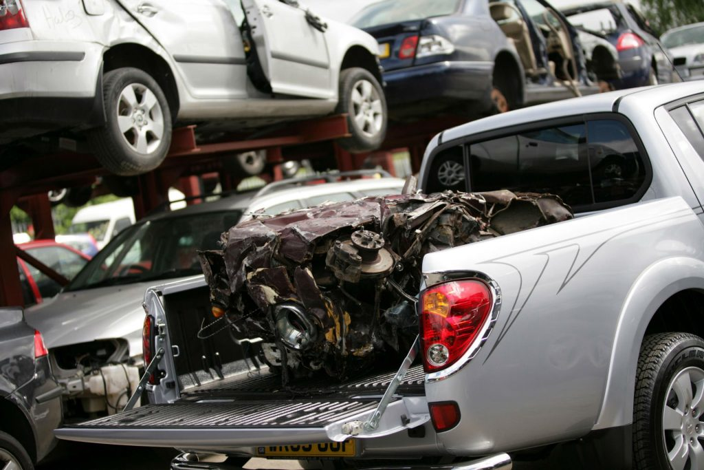Mitsubishi Scrappage Pickup carwitter 1024x683 - Piece By Piece: How to Find Quality Auto Parts - Piece By Piece: How to Find Quality Auto Parts