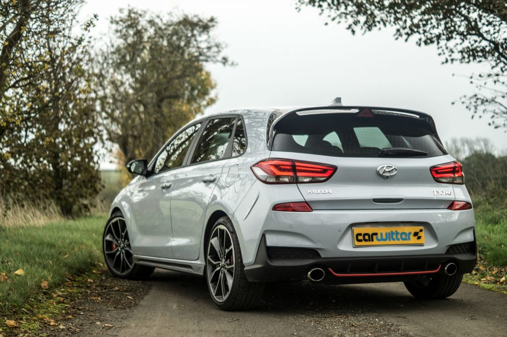 2018 Hyundai i30N Performance Pack Review Rear Angle Close carwitter 1024x681 - Hyundai i30N Performance Pack Review - Hyundai i30N Performance Pack Review