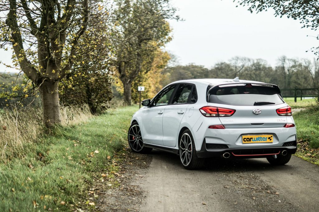2018 Hyundai i30N Performance Pack Review Rear Angle carwitter 1024x681 - Your Ultimate Guide to Private Plates - Your Ultimate Guide to Private Plates