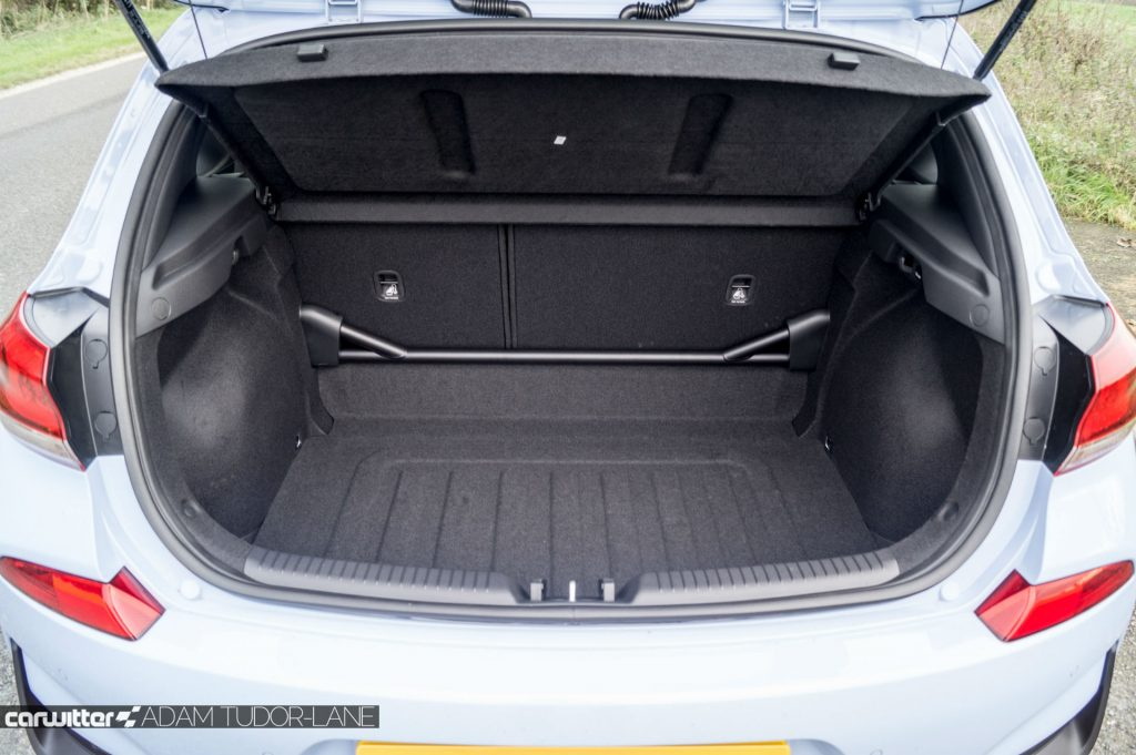 2018 Hyundai i30N Performance Pack Review Rear Strut Brace carwitter 1024x681 - Hyundai i30N Performance Pack Review - Hyundai i30N Performance Pack Review