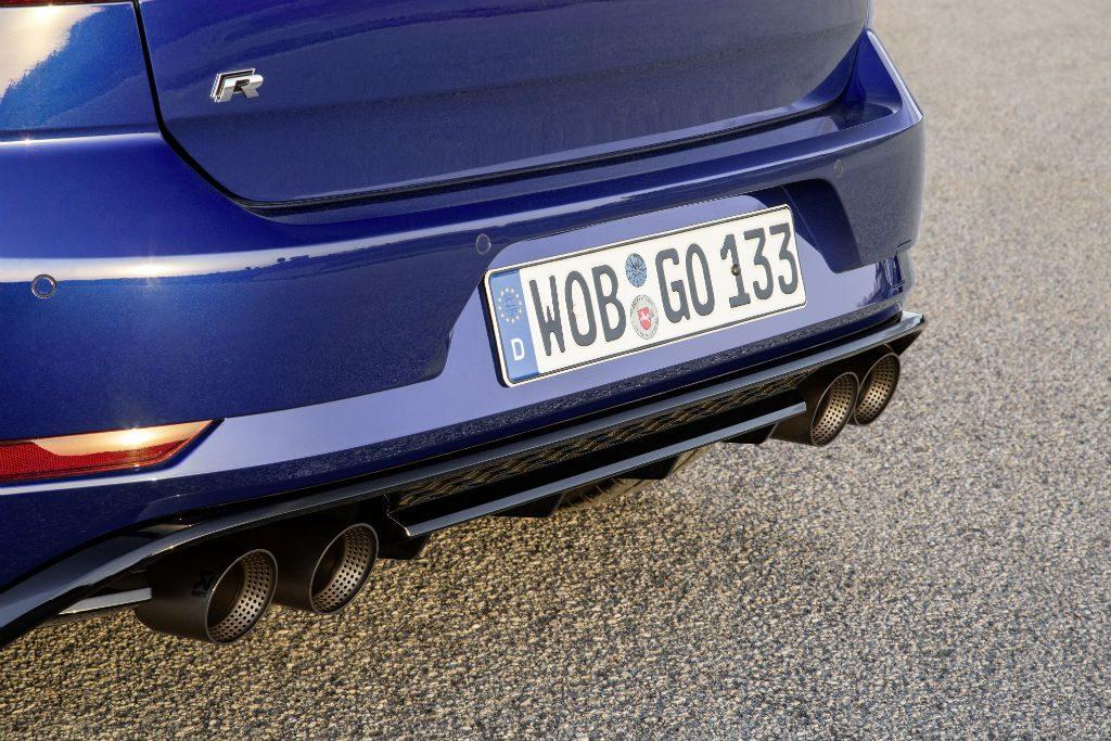 Volkswagen Golf R Performance Pack Exhaust Details 1024x683 - Volkswagen Add Performance Pack for the Golf R - Volkswagen Add Performance Pack for the Golf R