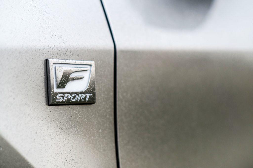 2017 Lexus RX 450h F Sport Review F Sport Badge carwitter 1024x681 - 2017 Lexus RX 450h F Sport Review - 2017 Lexus RX 450h F Sport Review