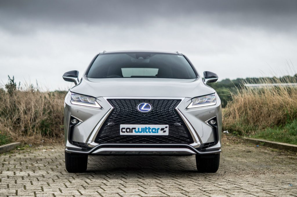 2017 Lexus RX 450h F Sport Review Front Low carwitter 1024x681 - 2017 Lexus RX 450h F Sport Review - 2017 Lexus RX 450h F Sport Review