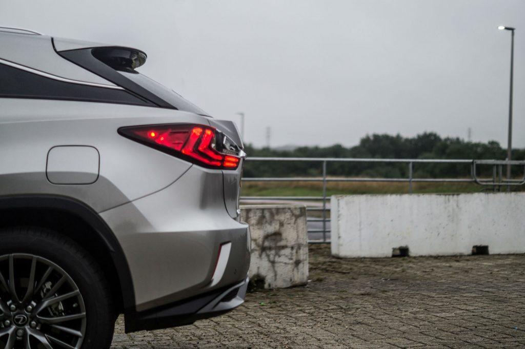2017 Lexus RX 450h F Sport Review Rear Detail carwitter 1024x681 - 2017 Lexus RX 450h F Sport Review - 2017 Lexus RX 450h F Sport Review