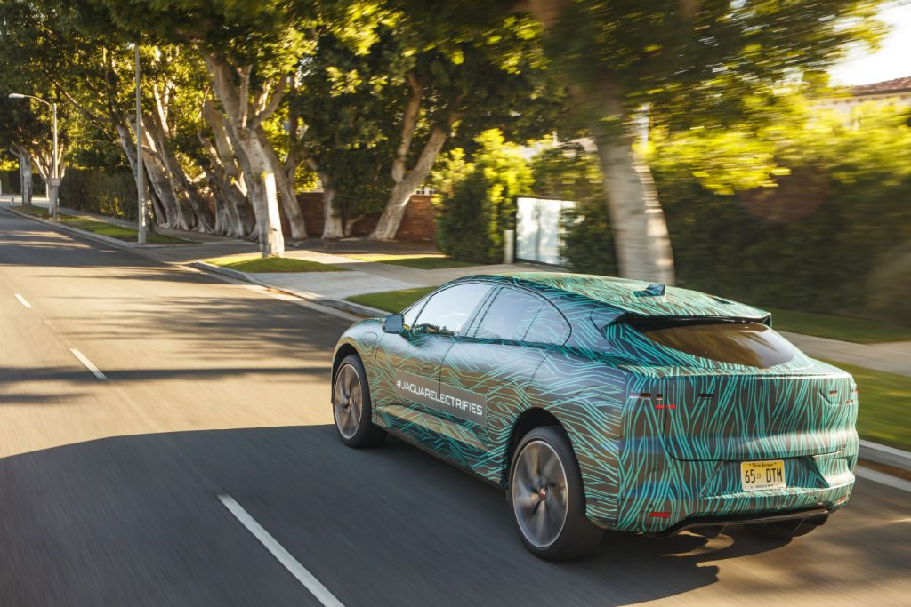 Jaguar I PACE Back 1024x683 - Jaguar finish testing of I-PACE SUV - Jaguar finish testing of I-PACE SUV