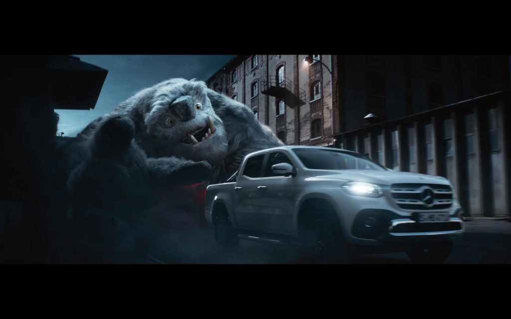 Mercedes X Class TV Advert carwitter 1024x640 - Mercedes X-Class advert is trippy... - Mercedes X-Class advert is trippy...