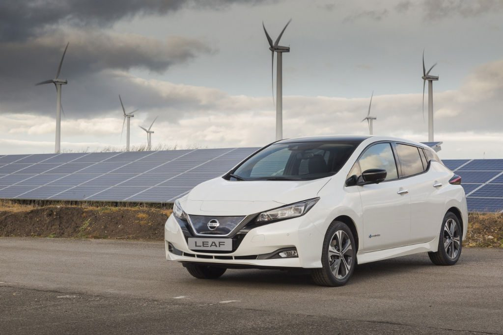 Nissan Leaf 2018 Front 1024x683 - Production starts for new Nissan Leaf - Production starts for new Nissan Leaf
