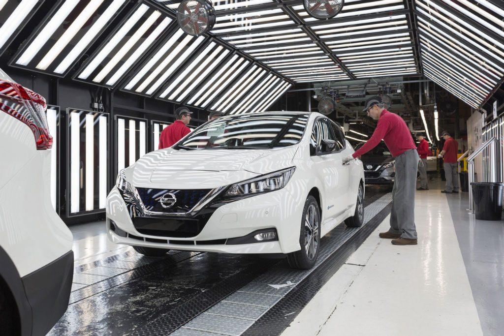 Nissan Leaf 2018 Production 1024x683 - Production starts for new Nissan Leaf - Production starts for new Nissan Leaf