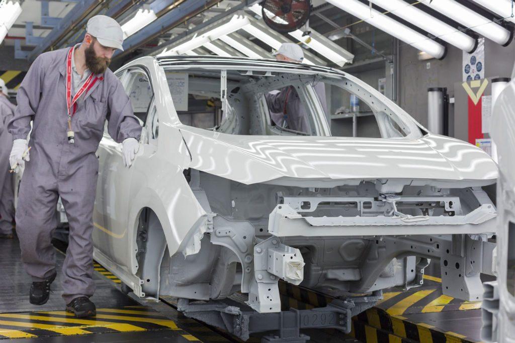 Nissan Leaf 2018 Production 2 1024x683 - Production starts for new Nissan Leaf - Production starts for new Nissan Leaf