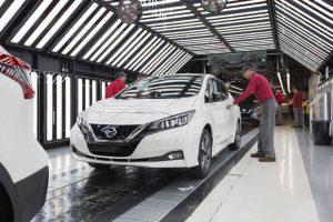 Nissan Leaf 2018 Production 300x200 - Production starts for new Nissan Leaf - Production starts for new Nissan Leaf
