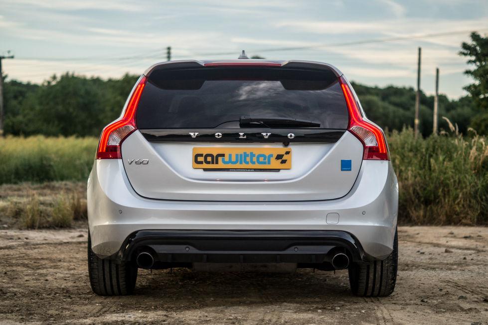 2017 Volvo V60 Polestar Review Rear carwitter - 2017 Volvo V60 Polestar Review - 2017 Volvo V60 Polestar Review - Rear - carwitter