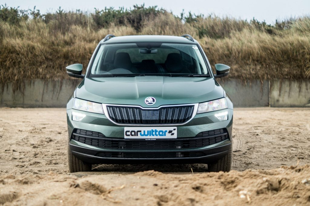 2018 Skoda Karoq 4x4 Review Front Low carwitter 1024x681 - Skoda Karoq 4x4 Review - Skoda Karoq 4x4 Review