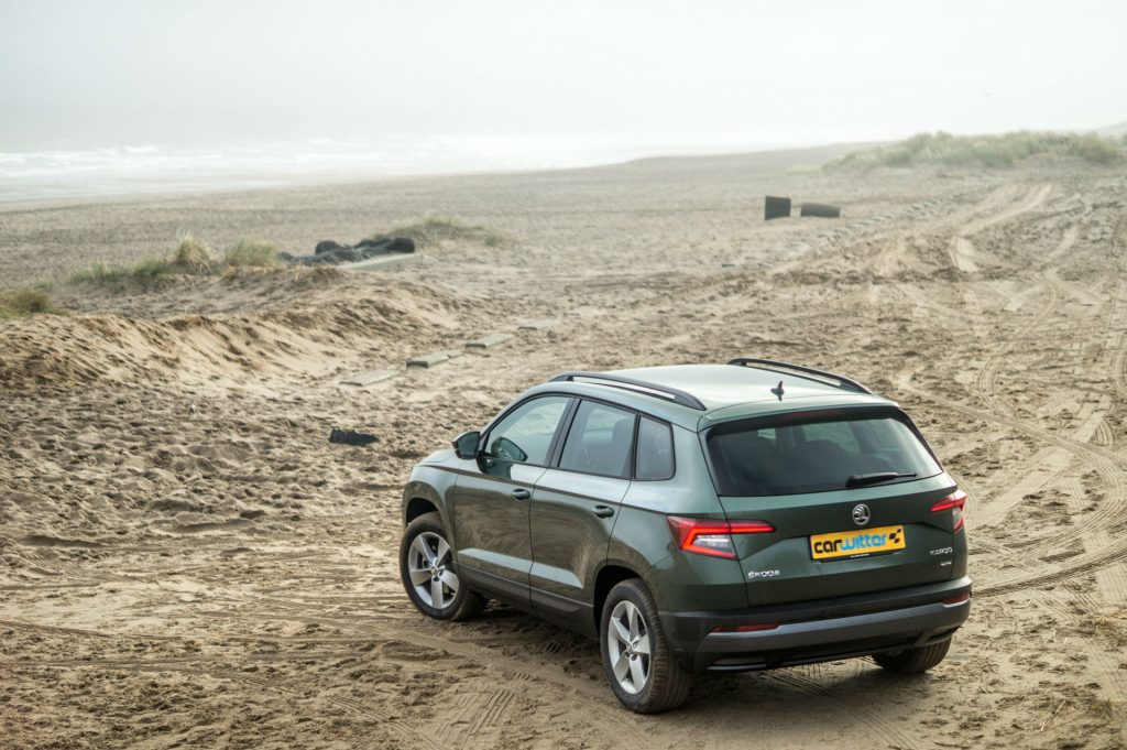 2018 Skoda Karoq 4x4 Review Rear Angle carwitter 1024x681 - Skoda Karoq 4x4 Review - Skoda Karoq 4x4 Review