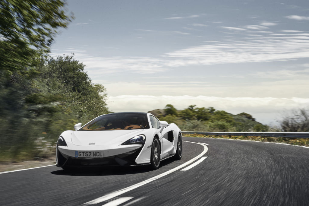 McLaren 570GT Sport Pack Front - McLaren add Sport Pack and Design Editions for Sports Series - McLaren add Sport Pack and Design Editions for Sports Series
