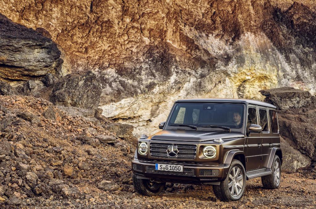 Mercedes 2018 G Class Front - Mercedes Reveal 2018 G-Class - Mercedes Reveal 2018 G-Class