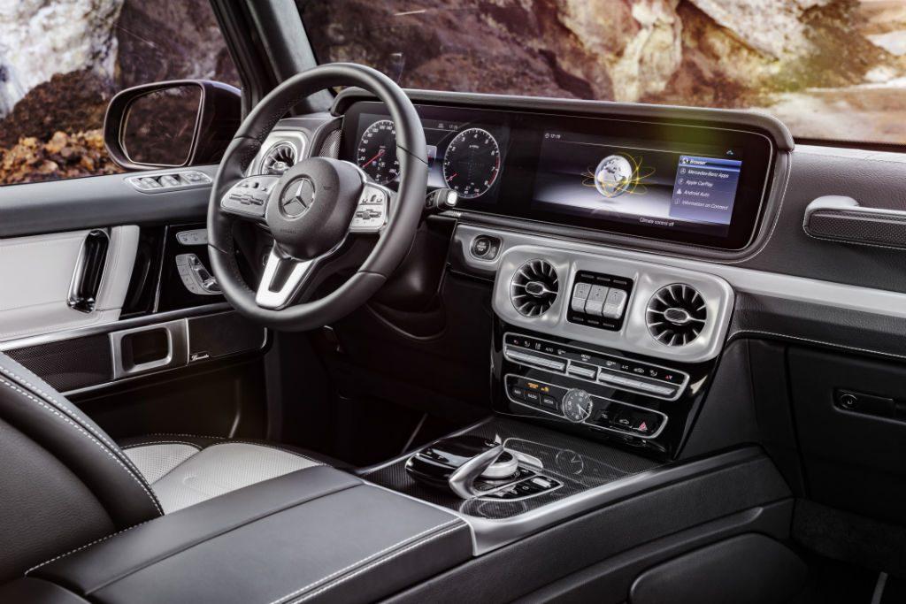 Mercedes 2018 G Class Interior 1024x683 - Mercedes Reveal 2018 G-Class - Mercedes Reveal 2018 G-Class