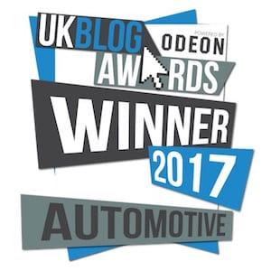 UK Blog Awards 2017 Winner carwitter - Press - UK Blog Awards 2017 Winner - carwitter