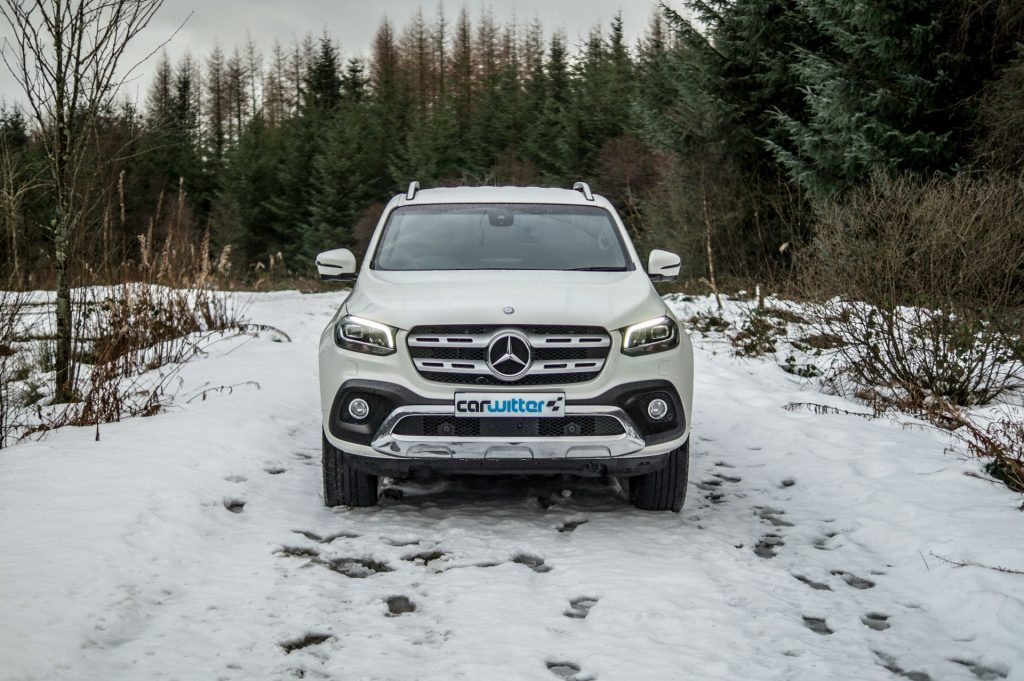 2018 Mercedes Benz X Class Review Front High carwitter 1024x681 - Mercedes X Class Review - Mercedes X Class Review