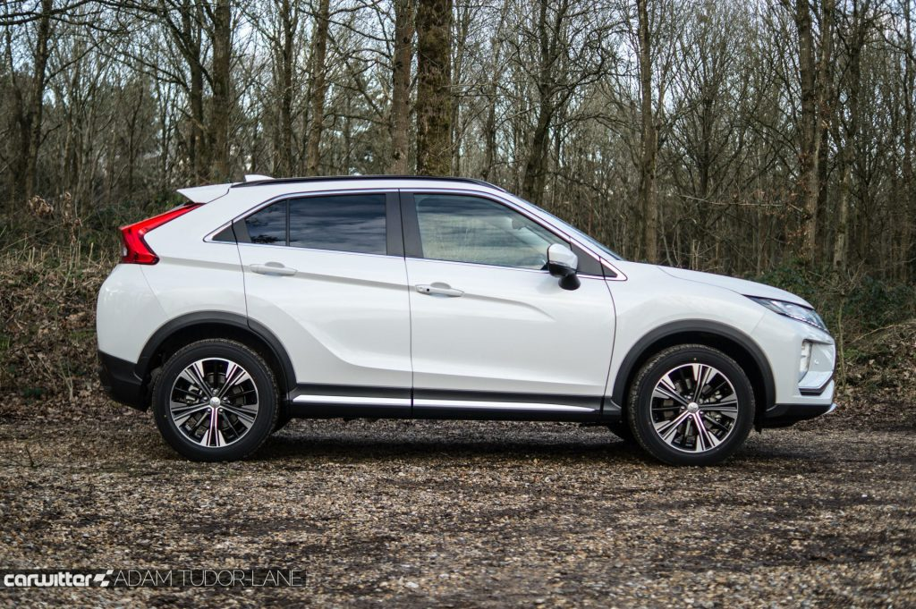 2018 Mitsubishi Eclipse Cross Review Side carwitter 1024x681 - Mitsubishi Eclipse Cross Review - Mitsubishi Eclipse Cross Review