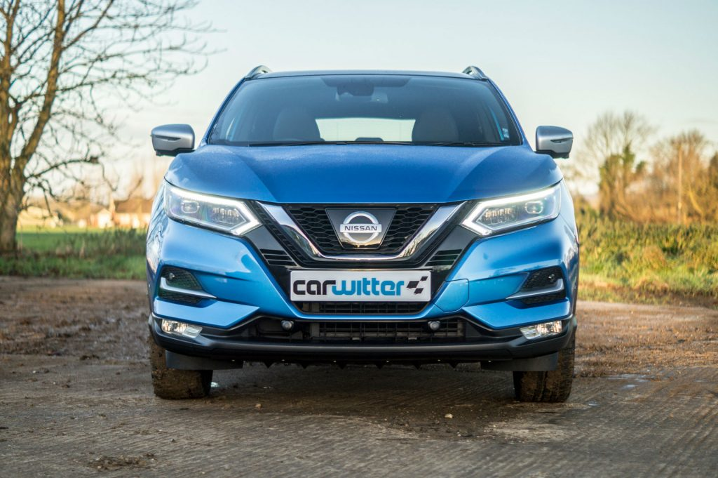2018 Nissan Qashqai Review Front Close carwitter 1024x681 - 2018 Nissan Qashqai Review - 2018 Nissan Qashqai Review