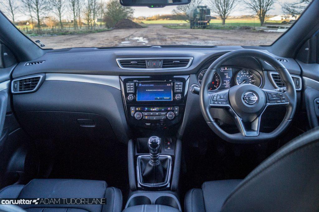 2018 Nissan Qashqai Review Interior carwitter 1024x681 - 2018 Nissan Qashqai Review - 2018 Nissan Qashqai Review