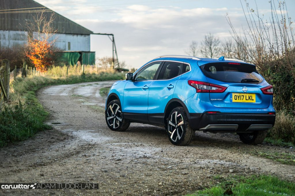 2018 Nissan Qashqai Review Rear Angle carwitter 1024x681 - 2018 Nissan Qashqai Review - 2018 Nissan Qashqai Review