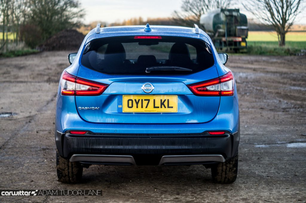 2018 Nissan Qashqai Review Rear Close carwitter 1024x681 - 2018 Nissan Qashqai Review - 2018 Nissan Qashqai Review