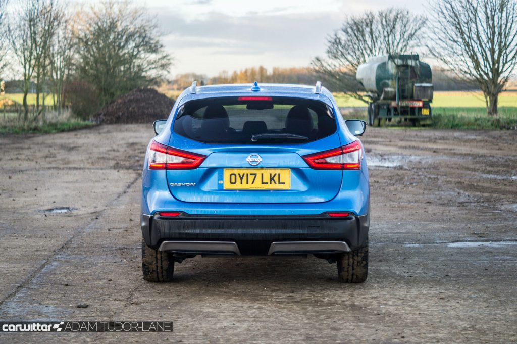 2018 Nissan Qashqai Review Rear carwitter 1024x681 - 2018 Nissan Qashqai Review - 2018 Nissan Qashqai Review