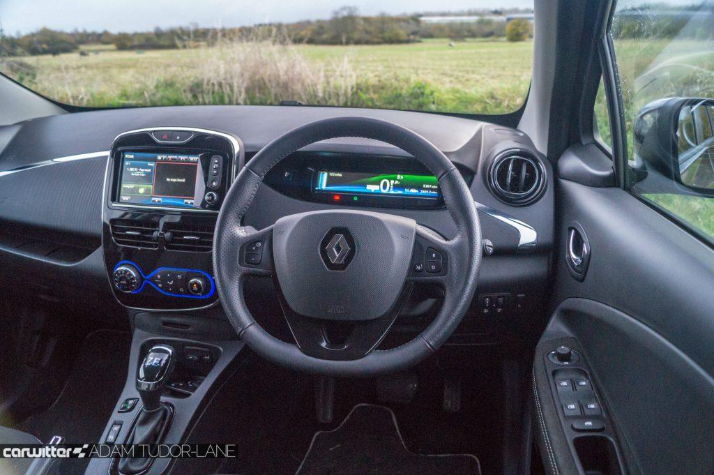 2018 Renault ZOE 40 Review Steering Wheel Dash carwitter 1024x681 - My week with ZOE - My week with ZOE