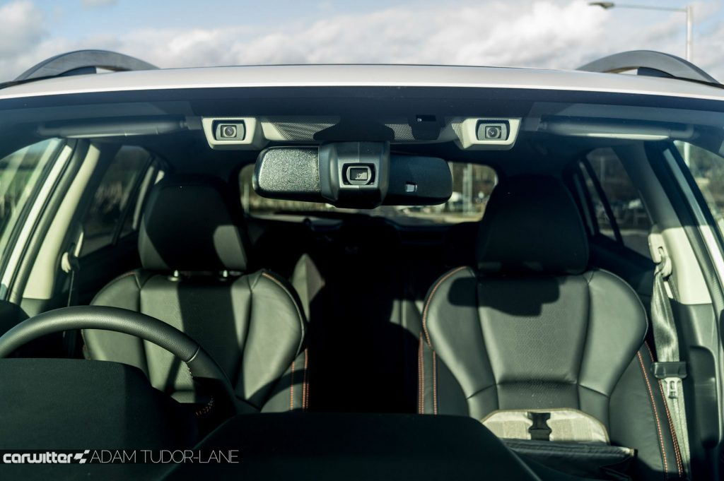 2018 Subaru XV Premium Review Eyesight Camera carwitter 1024x681 - 6 Cost-Effective Enhancements That Will Improve Driver Safety - 6 Cost-Effective Enhancements That Will Improve Driver Safety