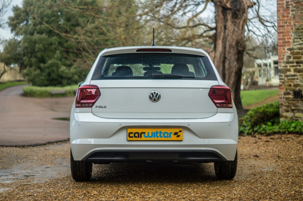 2018 VW Polo SE Review Rear Low carwitter 1024x681 - 2018 Volkswagen Polo SE Review - 2018 Volkswagen Polo SE Review