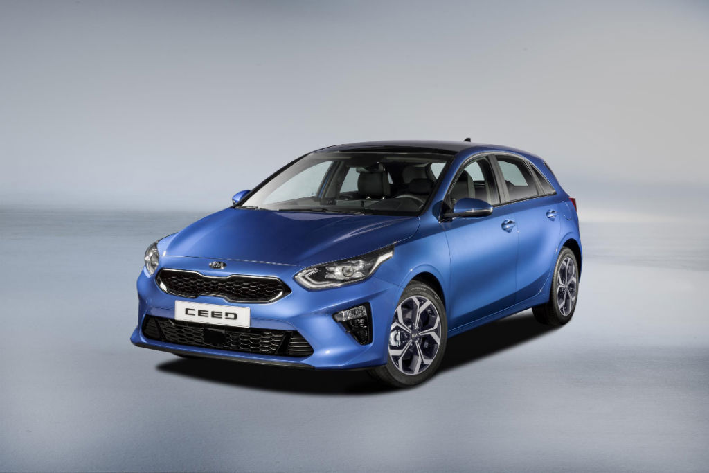 Kia Ceed 2018 Front - All-New Kia Ceed revealed ahead of Geneva Motor Show - All-New Kia Ceed revealed ahead of Geneva Motor Show