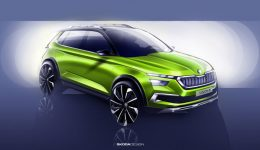 Skoda Vision X Sketch 1 260x150 - Skoda Vision X Concept to Debut at Geneva - Skoda Vision X Concept to Debut at Geneva