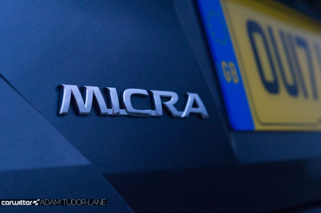2018 Nissan Micra Review Badge carwitter 1024x681 - 2018 Nissan Micra Review - 2018 Nissan Micra Review
