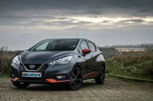 2018 Nissan Micra Review Front Side Angle carwitter 300x199 - 2018 Nissan Micra Review - 2018 Nissan Micra Review