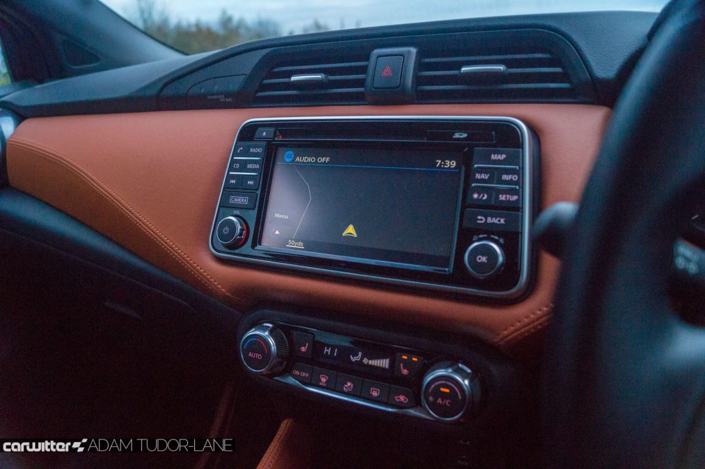 2018 Nissan Micra Review Infotainment carwitter 1024x681 - 2018 Nissan Micra Review - 2018 Nissan Micra Review