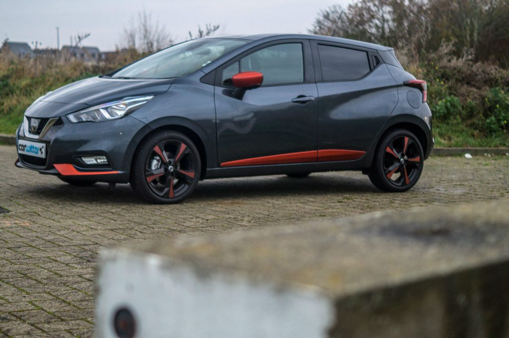 2018 Nissan Micra Review Side Angle carwitter 1024x681 - 2018 Nissan Micra Review - 2018 Nissan Micra Review