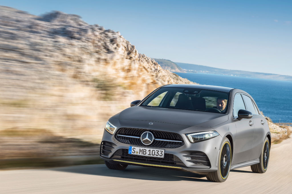 Mercedes A Class 2018 Front - Winners revealed: big race to be the UK's most popular and best car brand - Winners revealed: big race to be the UK's most popular and best car brand
