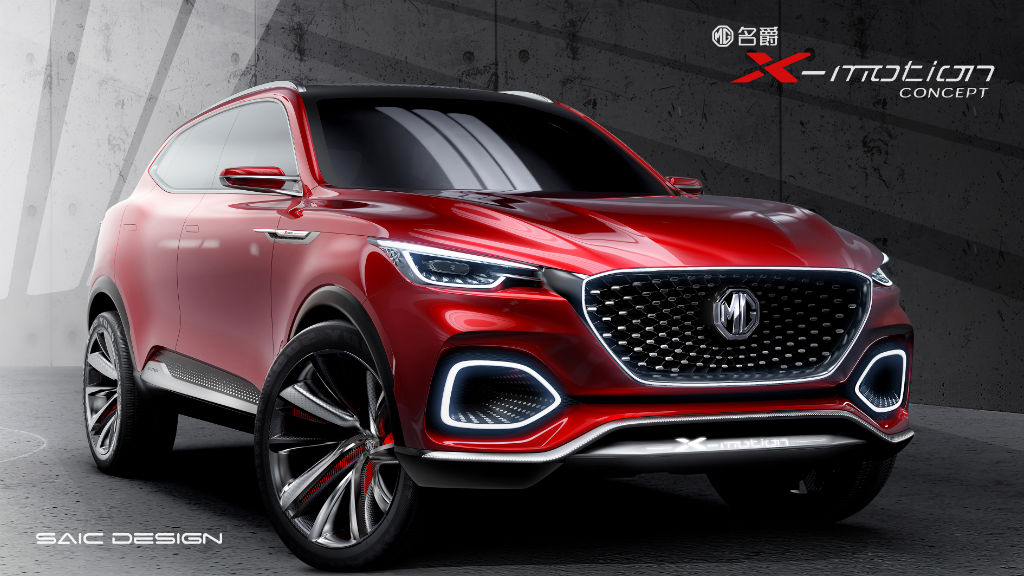 MG X Motion Concept Front - MG X-Motion Concept Revealed at Beijing Auto Show - MG X-Motion Concept Revealed at Beijing Auto Show