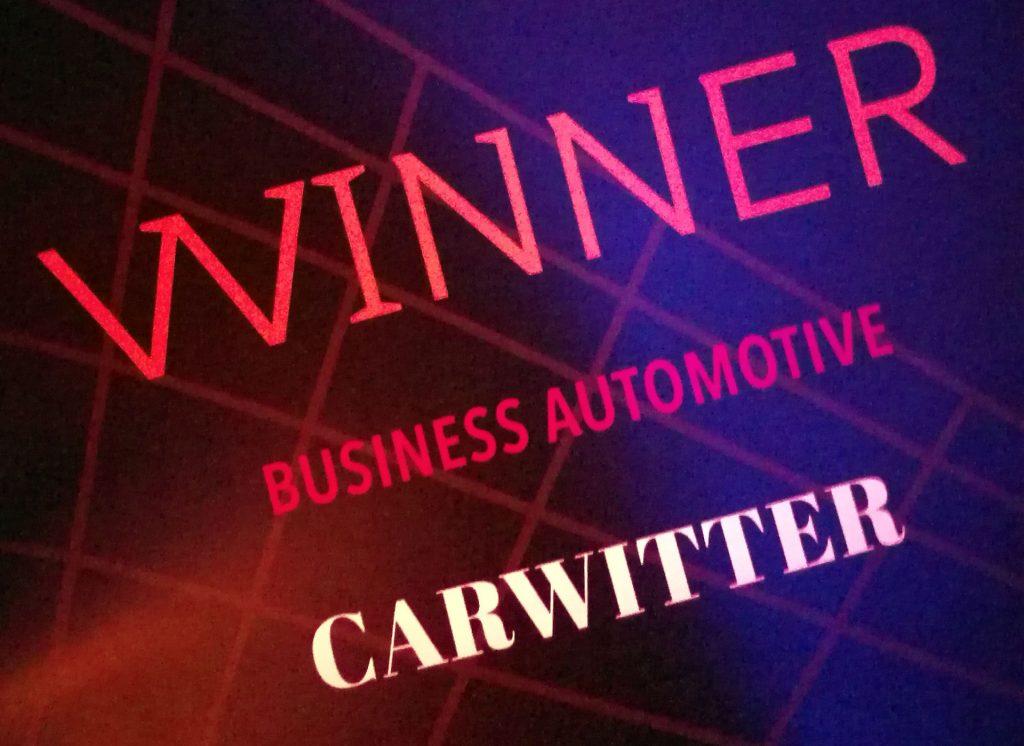 UK Blog Awards 2018 Business Automotive Winner carwitter 1024x746 - We Won...again?! UK Blog Awards 2018 - We Won...again?! UK Blog Awards 2018