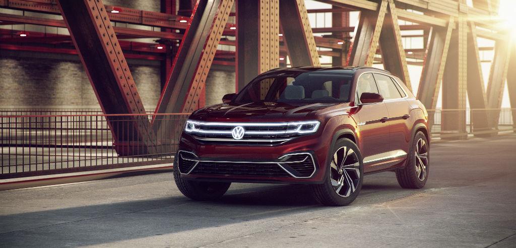 Volkswagen Atlas Cross Sport Concept Front - Volkswagen Debut Atlas Cross Sport and Atlas Tanoak Concepts - Volkswagen Debut Atlas Cross Sport and Atlas Tanoak Concepts