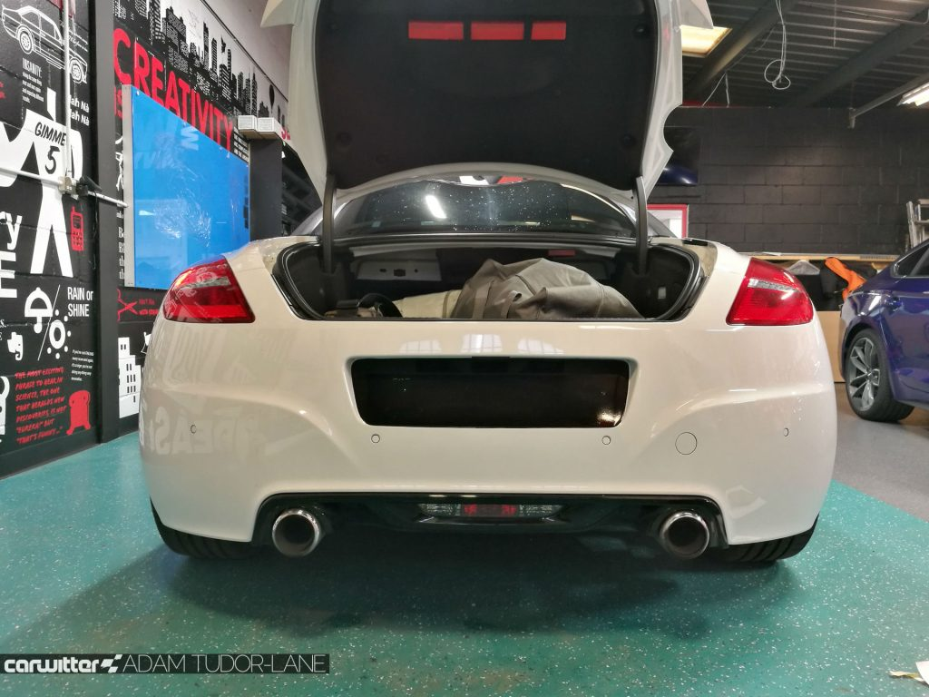 WeWrapAnyCarMK Peugeot RCZ R 001 carwitter 1024x768 - Changing the look of your car, with wrapping - Changing the look of your car, with wrapping