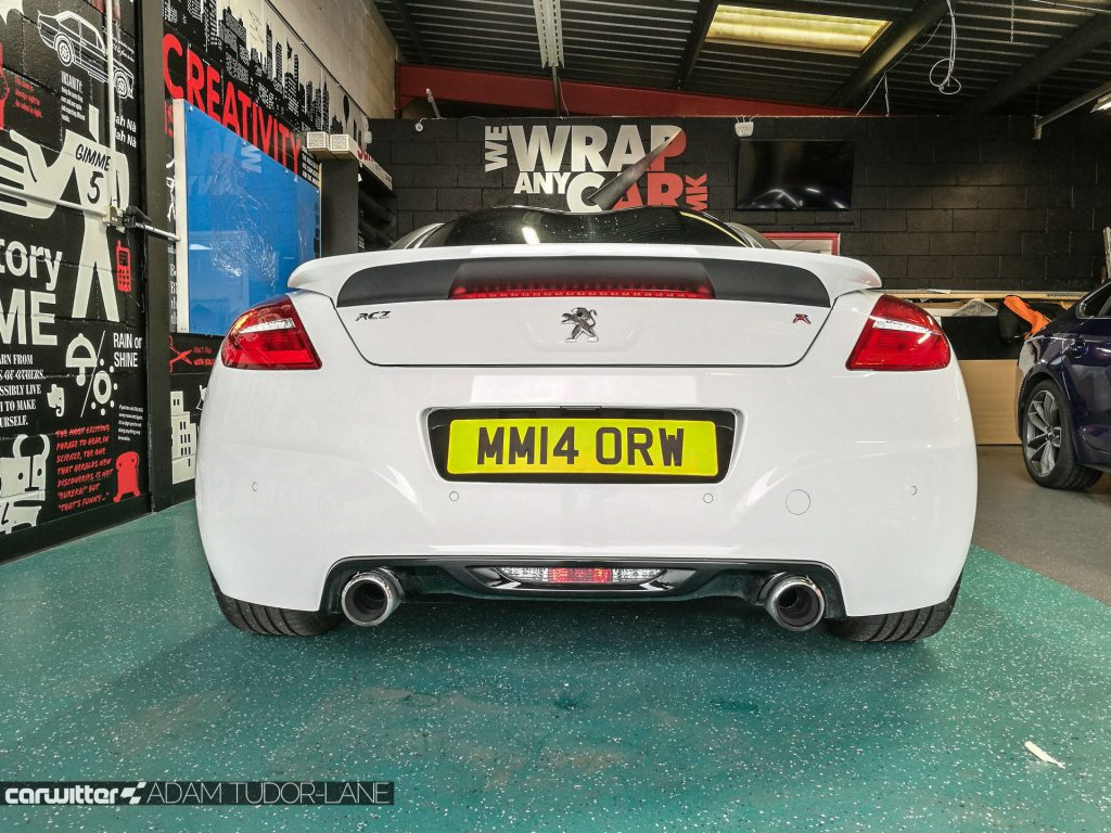 WeWrapAnyCarMK Peugeot RCZ R 004 carwitter 1024x768 - Changing the look of your car, with wrapping - Changing the look of your car, with wrapping