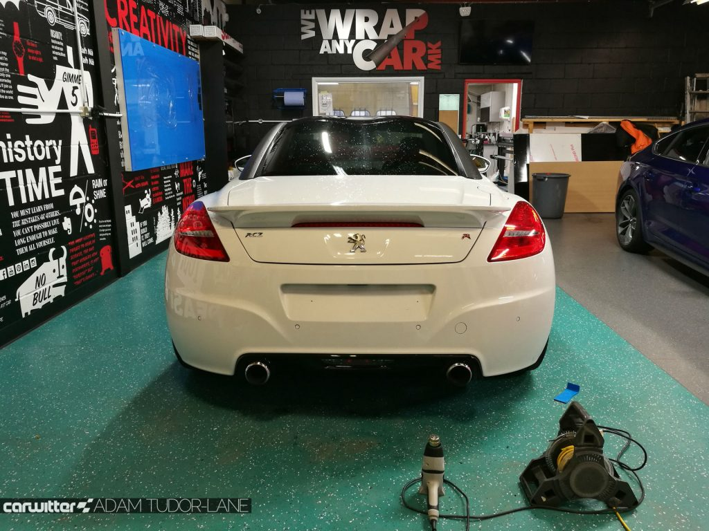 WeWrapAnyCarMK Peugeot RCZ R 009 carwitter 1024x768 - Changing the look of your car, with wrapping - Changing the look of your car, with wrapping