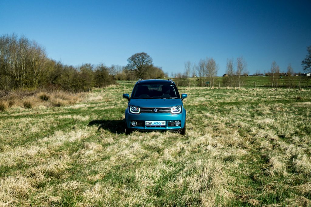 2018 Suzuki Ignis AllGrip Off Road Review Front Field carwitter 1024x681 - Suzuki Ignis AllGrip Off-Road Review - Suzuki Ignis AllGrip Off-Road Review