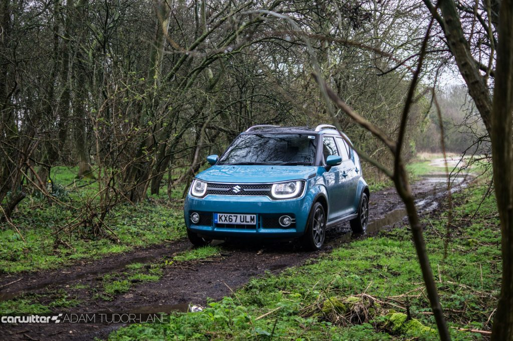 2018 Suzuki Ignis AllGrip Off Road Review Front Green Lane carwitter 1024x681 - Suzuki Ignis AllGrip Off-Road Review - Suzuki Ignis AllGrip Off-Road Review