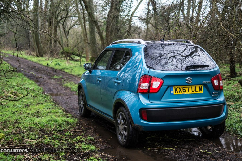 2018 Suzuki Ignis AllGrip Off Road Review Rear Green Lane carwitter 1024x681 - Suzuki Ignis AllGrip Off-Road Review - Suzuki Ignis AllGrip Off-Road Review